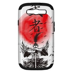 The Warrior Samsung Galaxy S Iii Hardshell Case (pc+silicone) by DesignsbyReg2