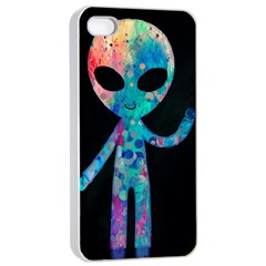 Greetings From Your Phone Apple Iphone 4/4s Seamless Case (white) by TheTalkingDead