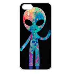 Greetings From Your Phone Apple Iphone 5 Seamless Case (white) by TheTalkingDead