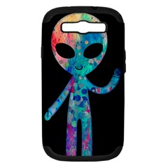 Greetings From Your Phone Samsung Galaxy S Iii Hardshell Case (pc+silicone) by TheTalkingDead