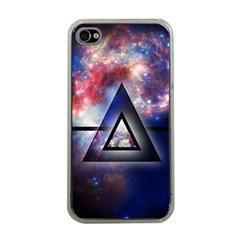 Galaxy Triangle Apple Iphone 4 Case (clear) by Contest1775858