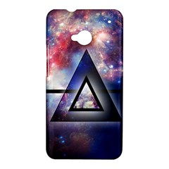 Galaxy Triangle HTC One Hardshell Case by Contest1775858