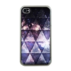 Triangle Tiles Apple Iphone 4 Case (clear) by Contest1775858