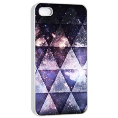 Triangle Tiles Apple iPhone 4/4s Seamless Case (White) by Contest1775858