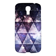 Triangle Tiles Samsung Galaxy S4 I9500/I9505 Hardshell Case by Contest1775858