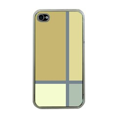Minimalist Art Apple Iphone 4 Case (clear) by Contest1775858