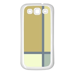 Minimalist Art Samsung Galaxy S3 Back Case (white) by Contest1775858