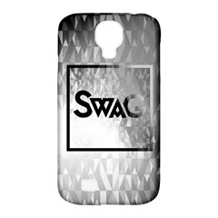 Swag (B&W) Samsung Galaxy S4 Classic Hardshell Case (PC+Silicone) by TheTalkingDead