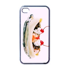 Banana Split Apple Iphone 4 Case (black) by TheTalkingDead