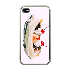 Banana Split Apple Iphone 4 Case (clear) by TheTalkingDead