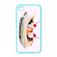 Banana Split Apple Iphone 4 Case (color) by TheTalkingDead