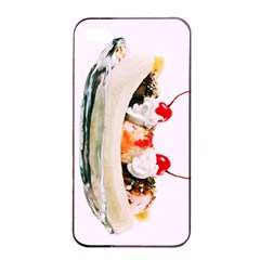 Banana Split Apple Iphone 4/4s Seamless Case (black) by TheTalkingDead