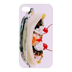 Banana Split Apple Iphone 4/4s Premium Hardshell Case by TheTalkingDead