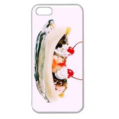 Banana Split Apple Seamless Iphone 5 Case (clear) by TheTalkingDead