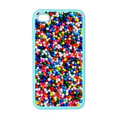 Sprinkles Apple Iphone 4 Case (color) by TheTalkingDead