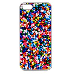 Sprinkles Apple Seamless iPhone 5 Case (Clear) by TheTalkingDead