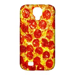 Pizza Samsung Galaxy S4 Classic Hardshell Case (pc+silicone) by Contest1775858