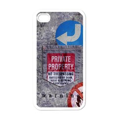 Warning Apple Iphone 4 Case (white) by Contest1761904