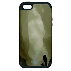 Fearless Apple iPhone 5 Hardshell Case (PC+Silicone) by RachelIsaacs