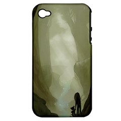 Fearless Apple Iphone 4/4s Hardshell Case (pc+silicone) by RachelIsaacs