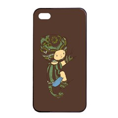 Charlie Apple Iphone 4/4s Seamless Case (black) by RachelIsaacs