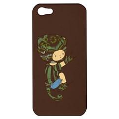 Charlie Apple Iphone 5 Hardshell Case by RachelIsaacs