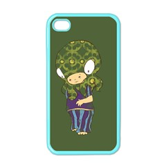 Octavio Apple Iphone 4 Case (color) by RachelIsaacs
