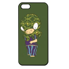 Octavio Apple Iphone 5 Seamless Case (black) by RachelIsaacs