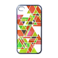 Trianglez Apple Iphone 4 Case (black) by ILANA