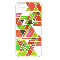 Trianglez Apple Iphone 5 Seamless Case (white) by ILANA