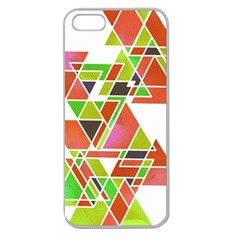 Trianglez Apple Seamless Iphone 5 Case (clear) by ILANA