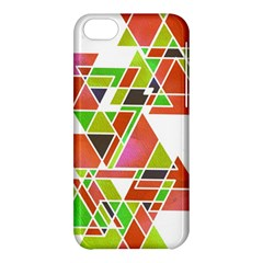 Trianglez Apple Iphone 5c Hardshell Case by ILANA