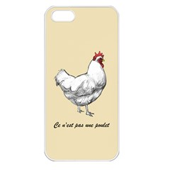 It s A Rooster  Apple Iphone 5 Seamless Case (white) by Contest1632283