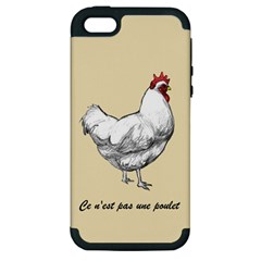 It s A Rooster  Apple Iphone 5 Hardshell Case (pc+silicone) by Contest1632283