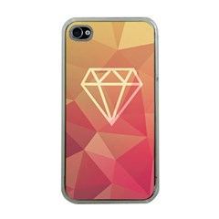 Diamond Apple iPhone 4 Case (Clear) by Contest1701949