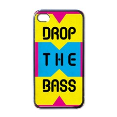 Drop The Bass Apple Iphone 4 Case (black) by Contest1775858