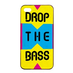 DROP THE BASS Apple iPhone 4/4s Seamless Case (Black) by Contest1775858