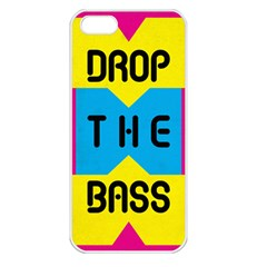 Drop The Bass Apple Iphone 5 Seamless Case (white) by Contest1775858