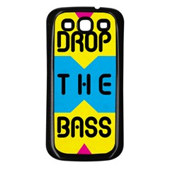 Drop The Bass Samsung Galaxy S3 Back Case (black) by Contest1775858