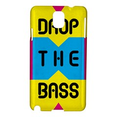 Drop The Bass Samsung Galaxy Note 3 N9005 Hardshell Case by Contest1775858