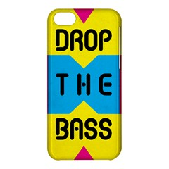 Drop The Bass Apple Iphone 5c Hardshell Case by Contest1775858