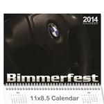 2014 BMW E36 OT Kalender - Wall Calendar 11  x 8.5  (12-Months)