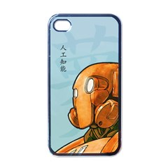 Robot Dreamer Apple Iphone 4 Case (black) by Contest1780262