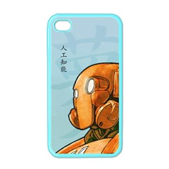 Robot Dreamer Apple Iphone 4 Case (color) by Contest1780262