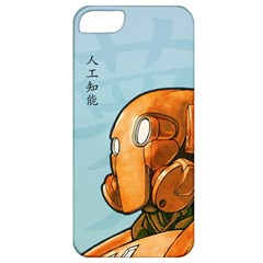 Robot Dreamer Apple Iphone 5 Classic Hardshell Case by Contest1780262