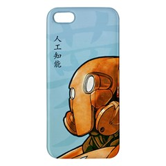 Robot Dreamer Iphone 5 Premium Hardshell Case by Contest1780262