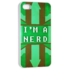 I m A Nerd Apple Iphone 4/4s Seamless Case (white)