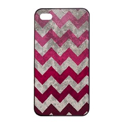 Chevron  Apple Iphone 4/4s Seamless Case (black) by ILANA