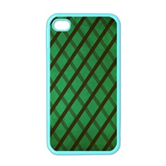 Green Stripes Apple Iphone 4 Case (color) by Contest1775858