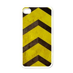 Caution Apple Iphone 4 Case (white) by Contest1775858